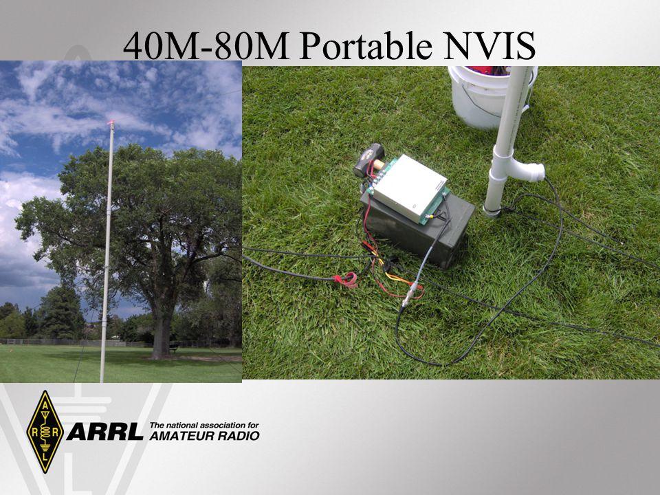 40M-80M Portable NVIS