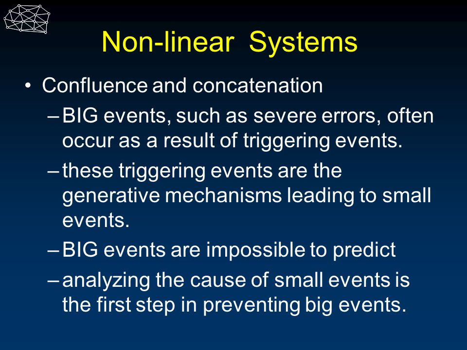 Non-linear Systems Confluence and concatenation