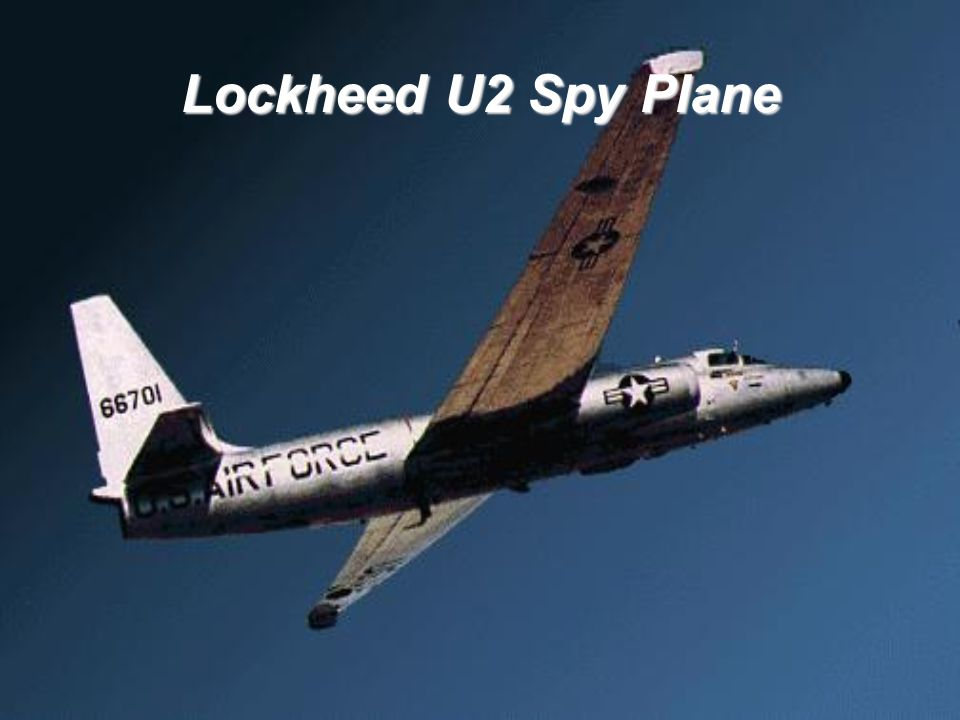 Lockheed U2 Spy Plane Up to 50%