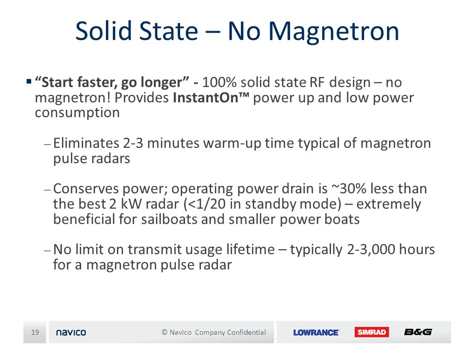 Solid State – No Magnetron