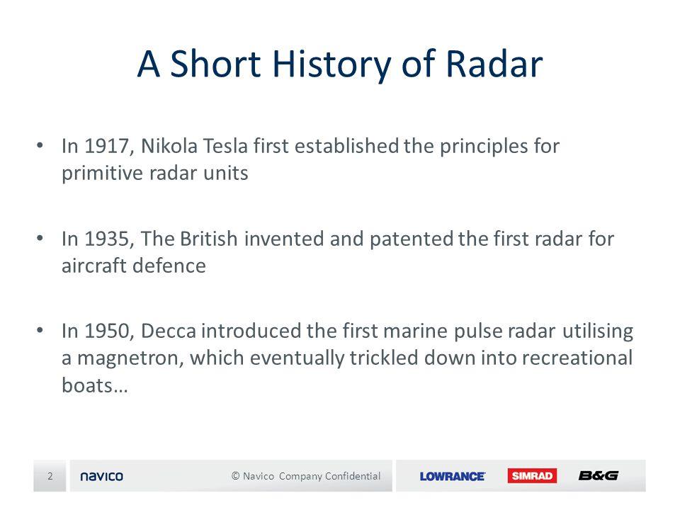 A Short History of Radar