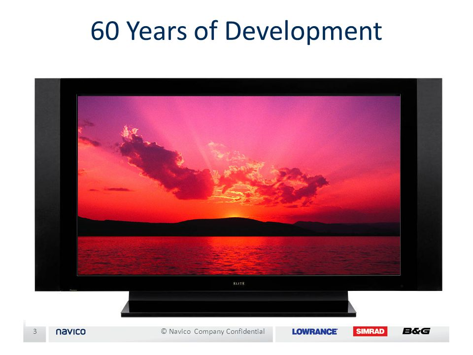 60 Years of Development © Navico Company Confidential