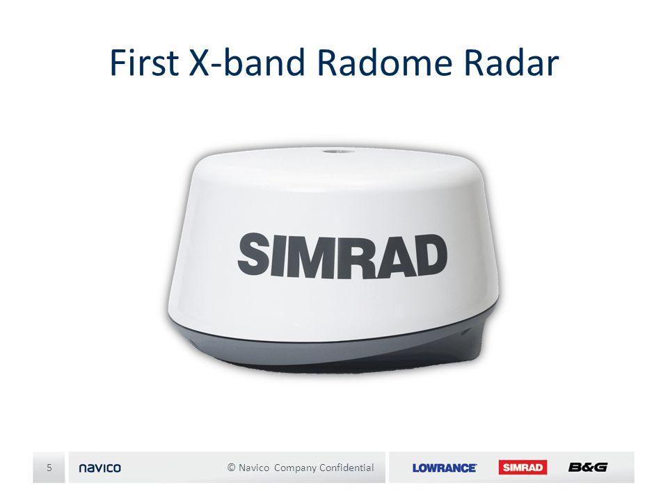 First X-band Radome Radar