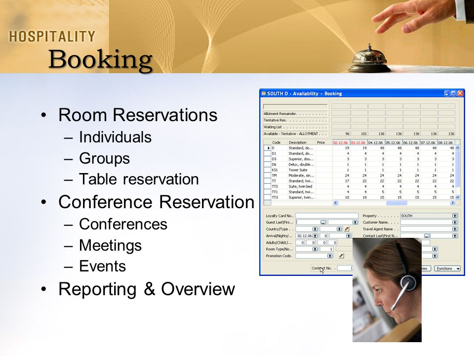 Booking Room Reservations Conference Reservation Reporting & Overview