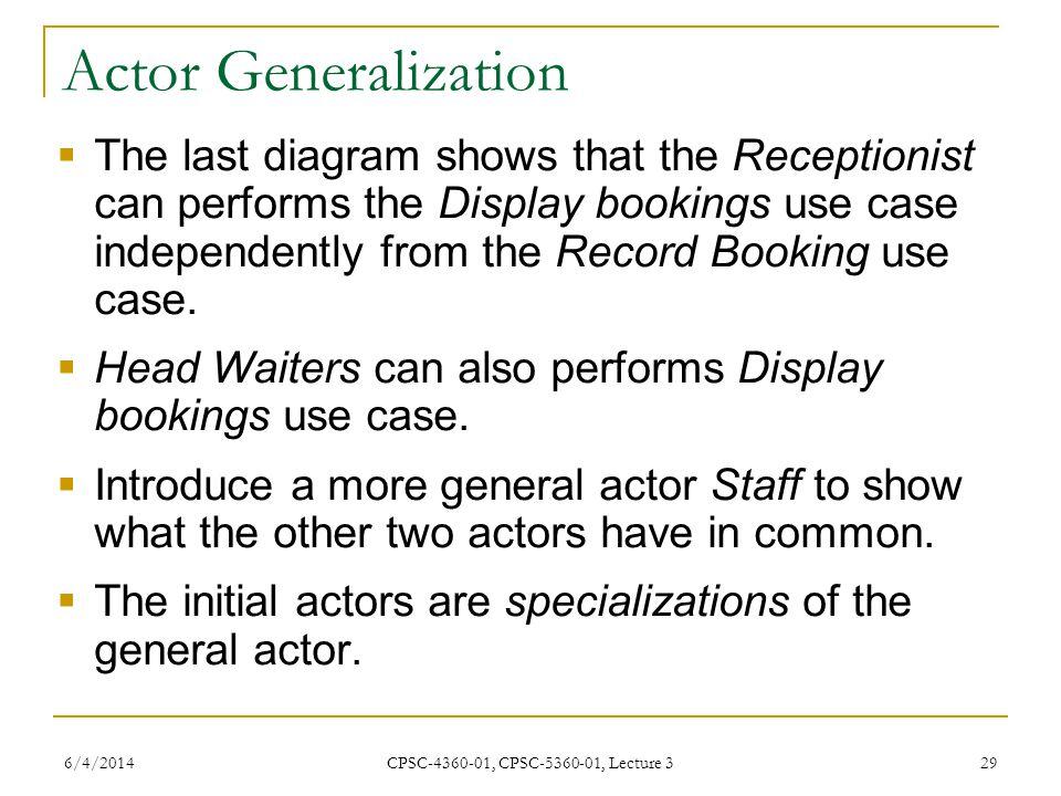 Actor Generalization