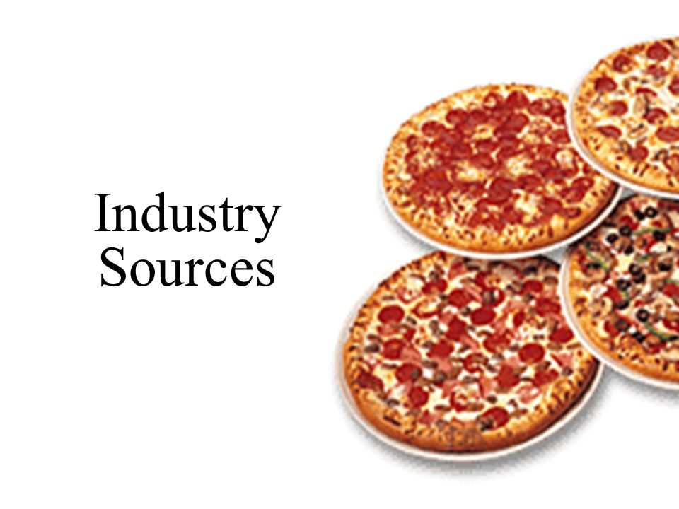Industry Sources