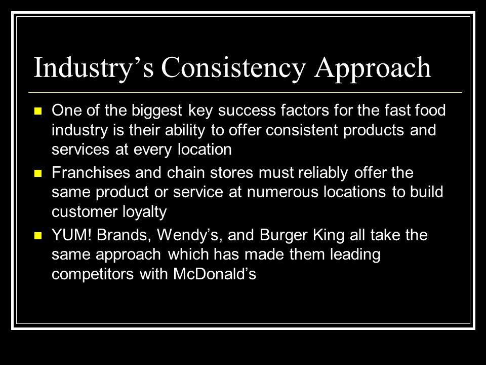 Industry's Consistency Approach