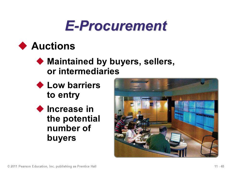 E-Procurement Auctions
