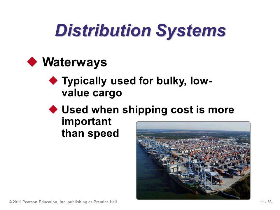 Distribution Systems Waterways