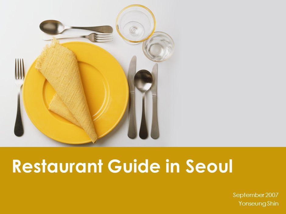 Contents Contents SAMCHUNGDONG Western Korean Asian & others INSADONG