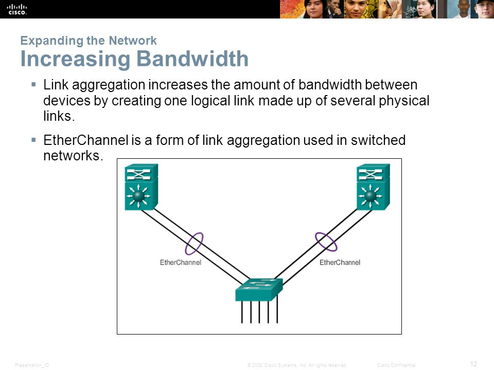 Expanding the Network Increasing Bandwidth