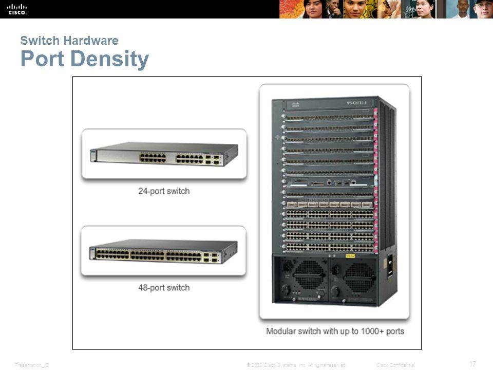 Switch Hardware Port Density