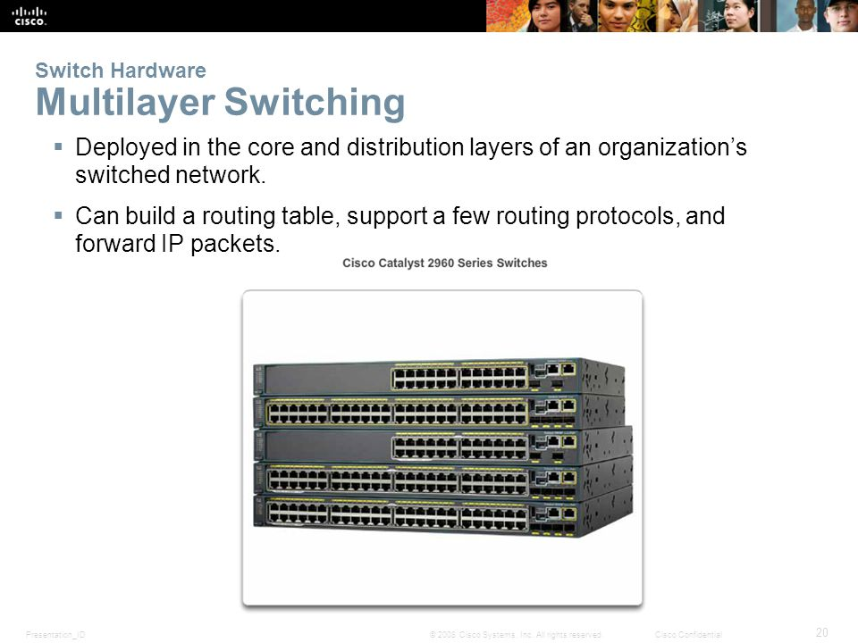 Switch Hardware Multilayer Switching