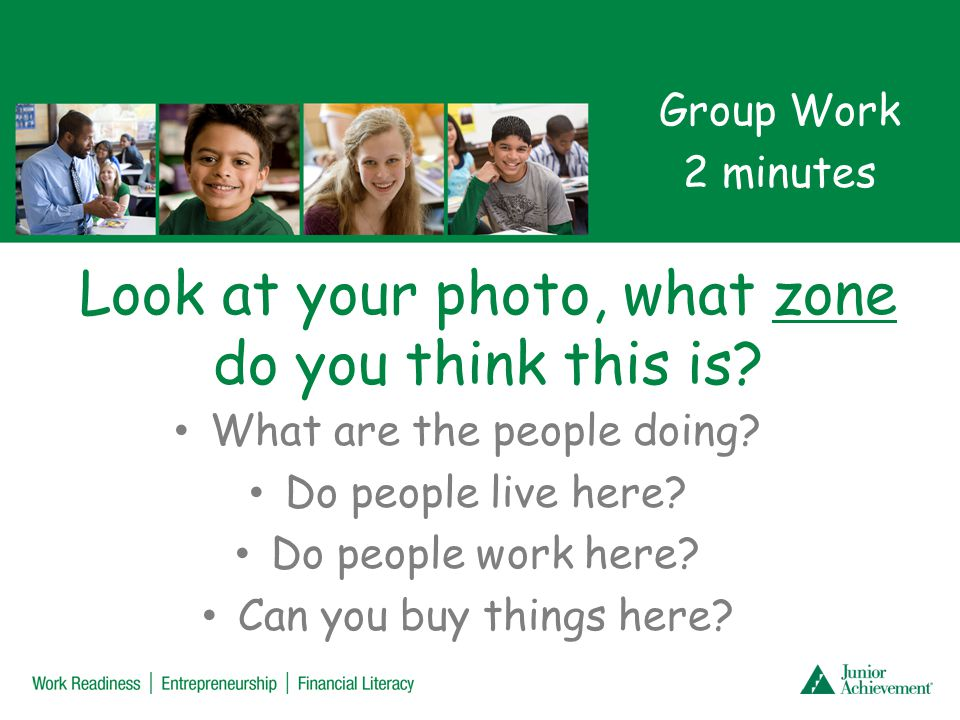 Questions Why are zones needed to make a city run smoothly