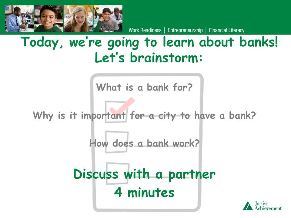 Deposit money into your account