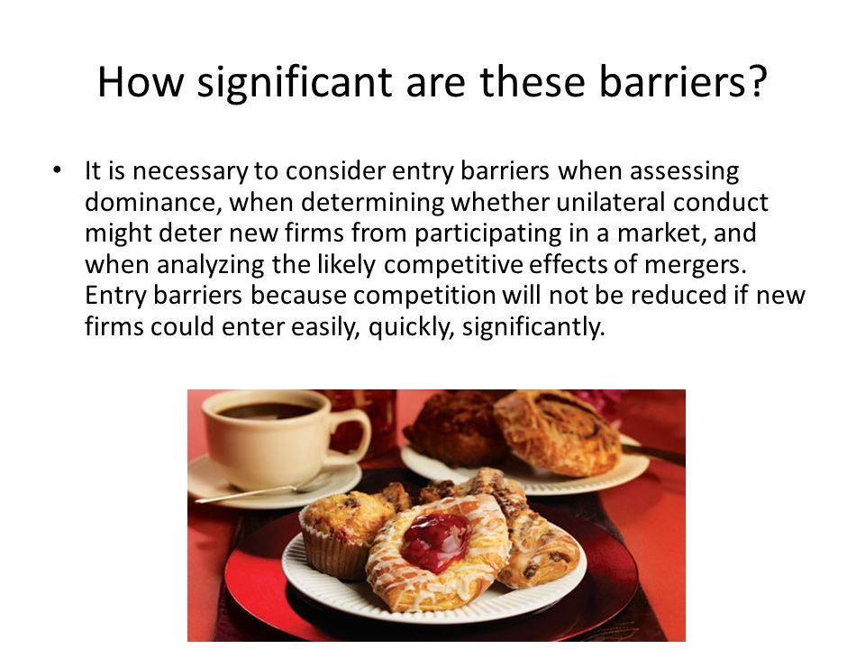 How significant are these barriers