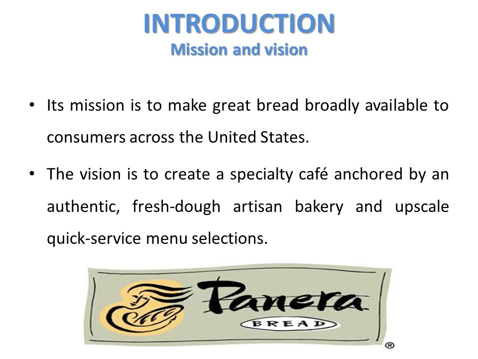 INTRODUCTION Mission and vision