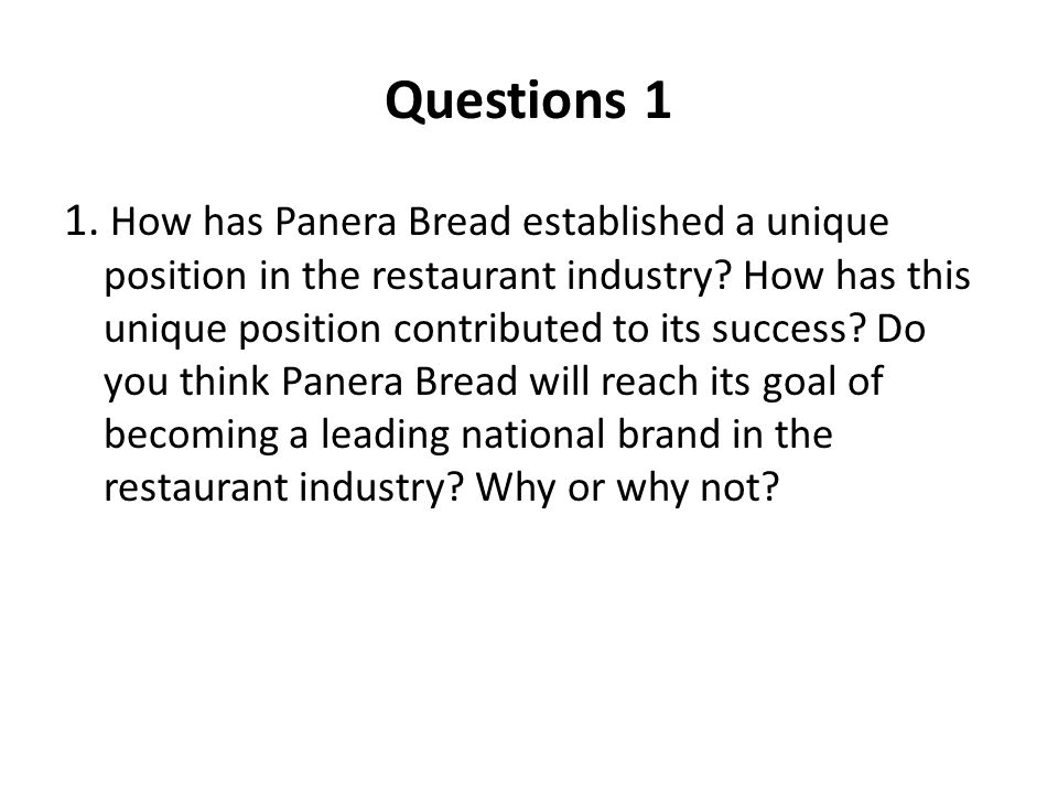 Questions 1