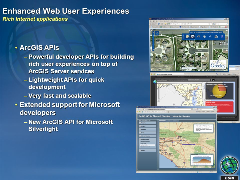 Enhanced Web User Experiences Rich Internet applications