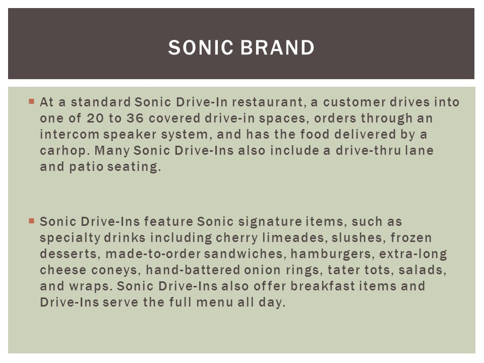 How Many Points For Onion Rings From Sonic