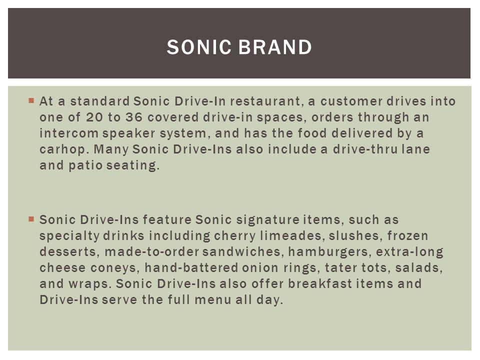 Sonic Brand