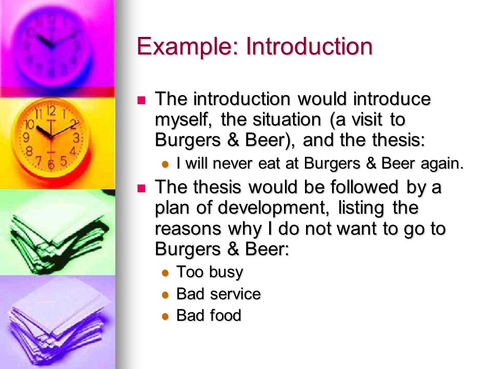 Example: Introduction