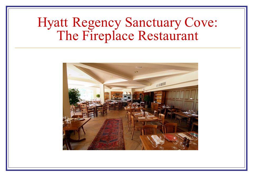 Hyatt Regency Sanctuary Cove: The Fireplace Restaurant