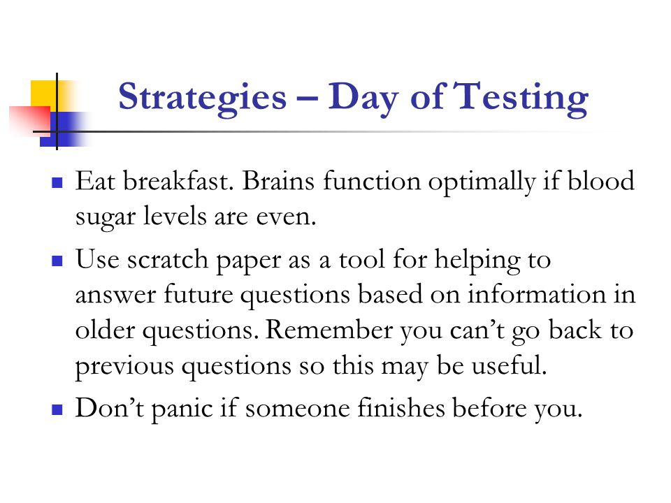 Strategies – Day of Testing