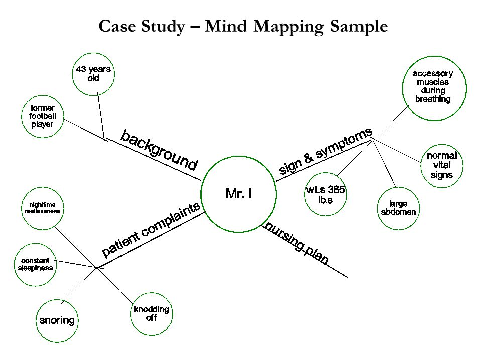 Case Study – Mind Mapping Sample