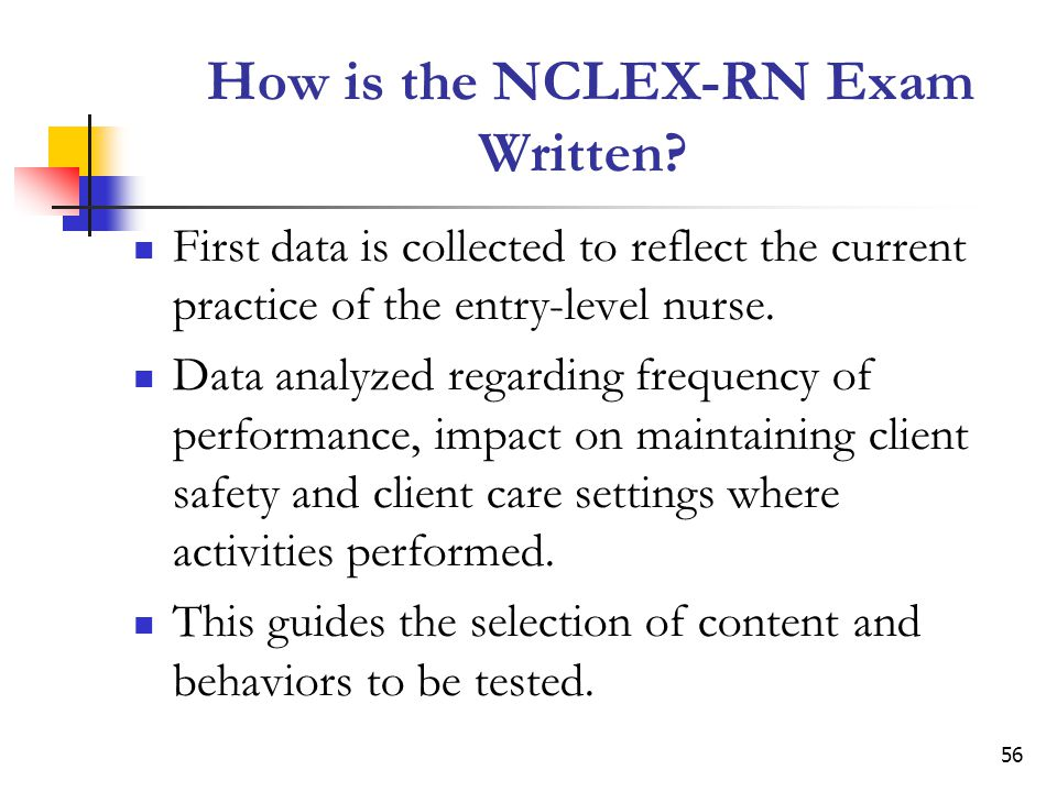 How is the NCLEX-RN Exam Written