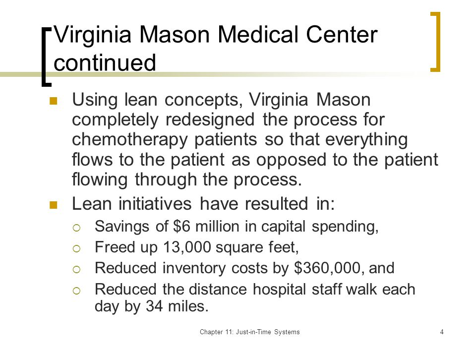 Virginia Mason Medical Center continued