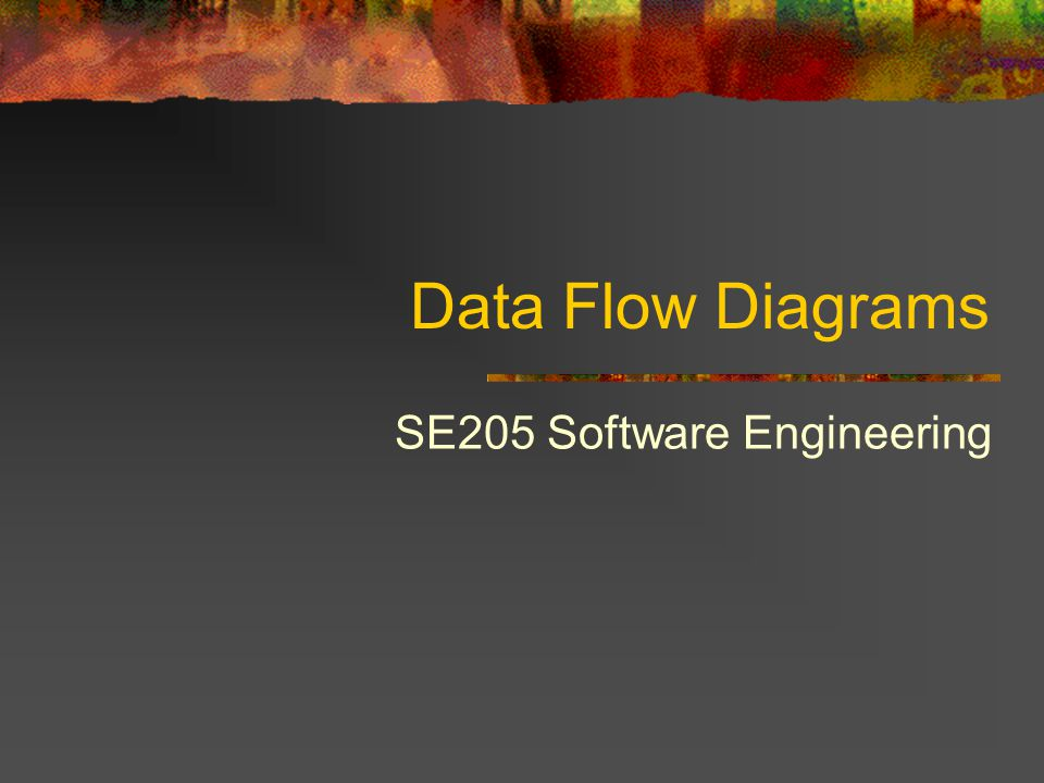 SE205 Software Engineering