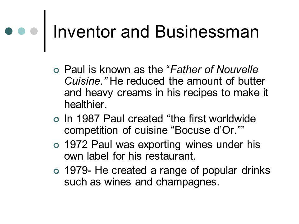 Inventor and Businessman