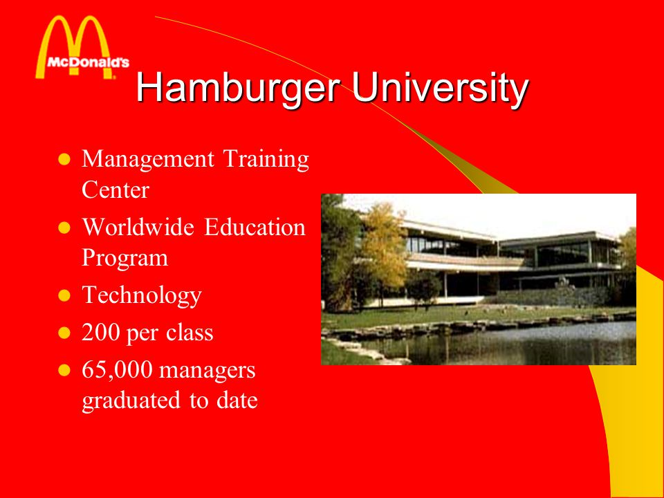 Hamburger University Management Training Center