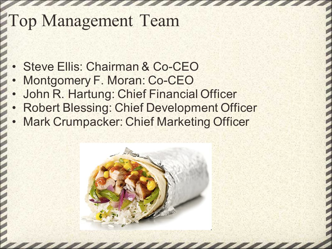 Top Management Team Steve Ellis: Chairman & Co-CEO