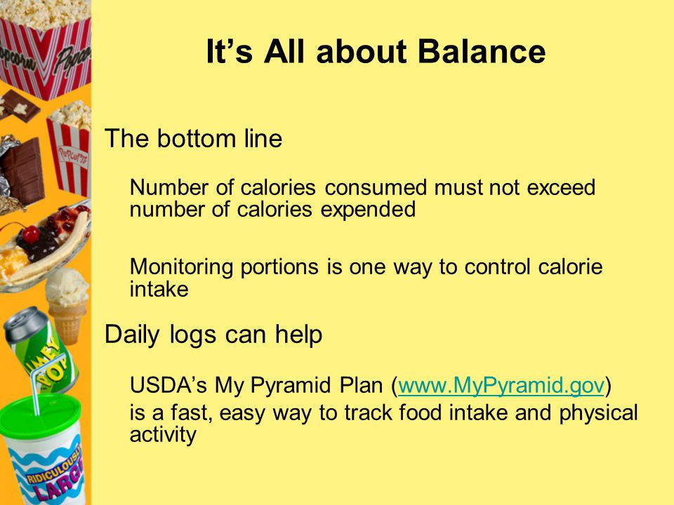 It's All about Balance The bottom line