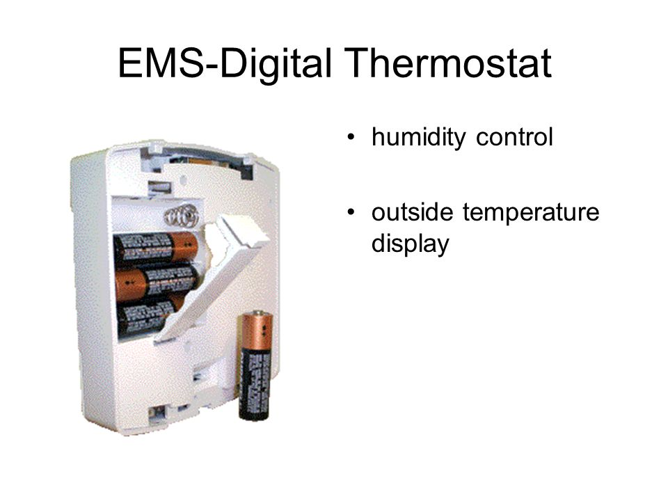 EMS-Digital Thermostat
