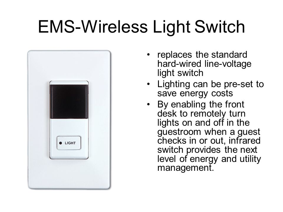 EMS-Wireless Light Switch