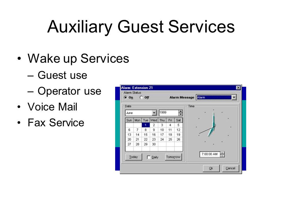 Auxiliary Guest Services