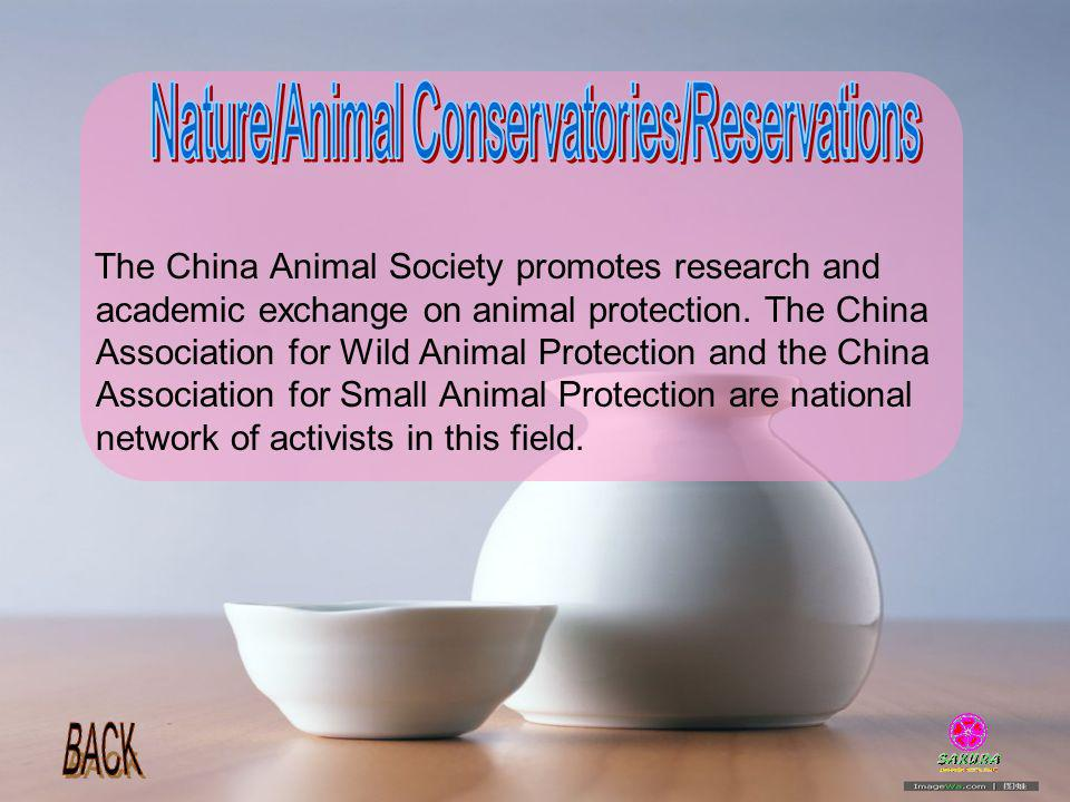 Nature/Animal Conservatories/Reservations
