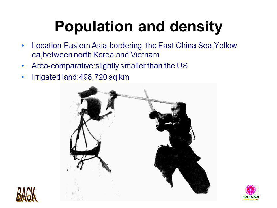 Population and density