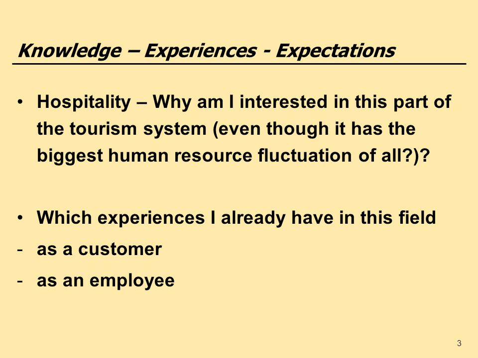 introduction to tourism and hospitality pdf