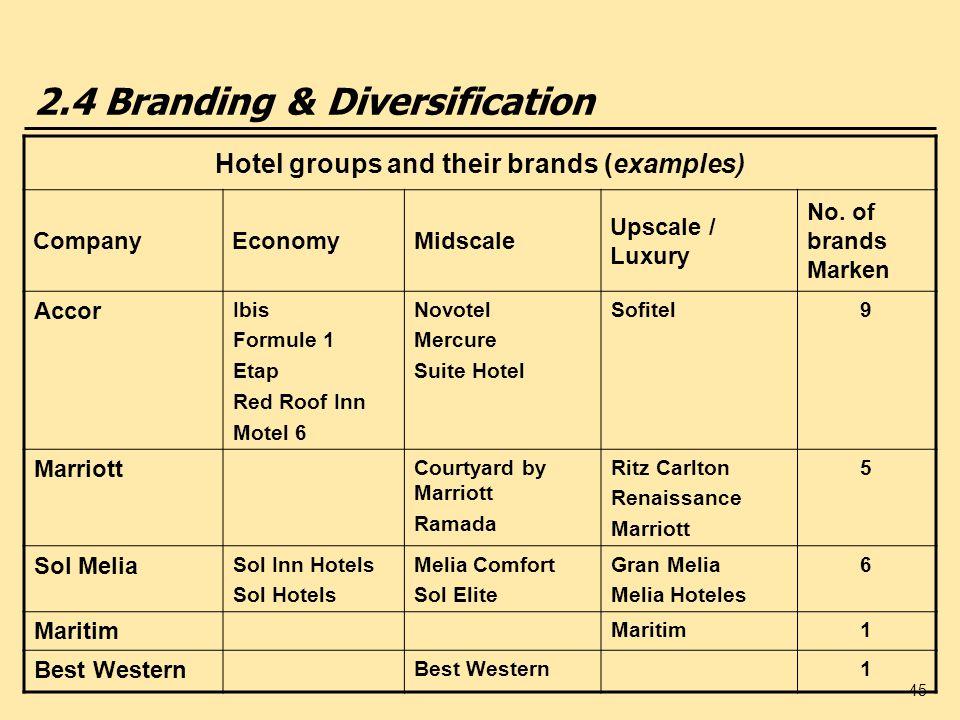 2.4 Branding & Diversification