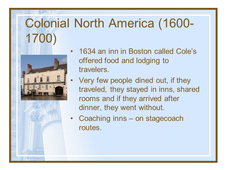 Colonial North America (1600-1700)