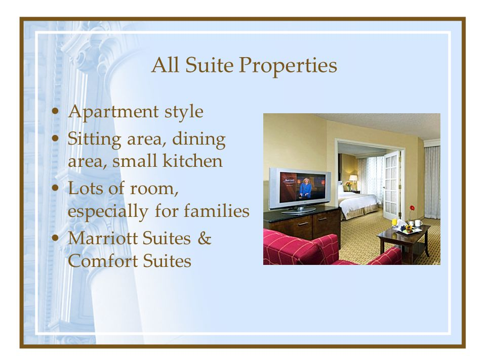All Suite Properties Apartment style