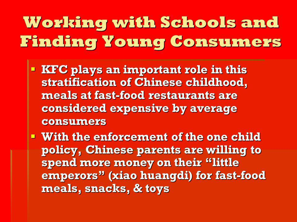 Working with Schools and Finding Young Consumers