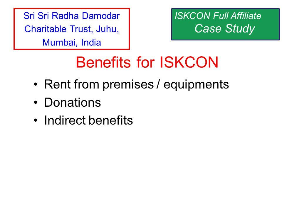 Sri Sri Radha Damodar Charitable Trust, Juhu, Mumbai, India