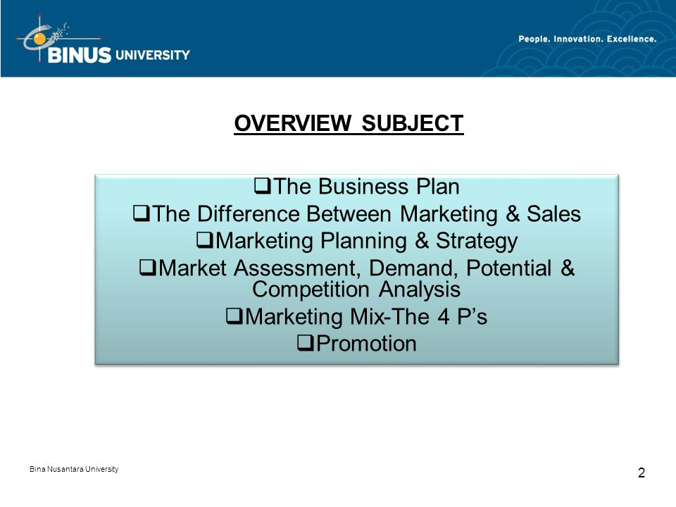 The Difference Between Marketing & Sales Marketing Planning & Strategy