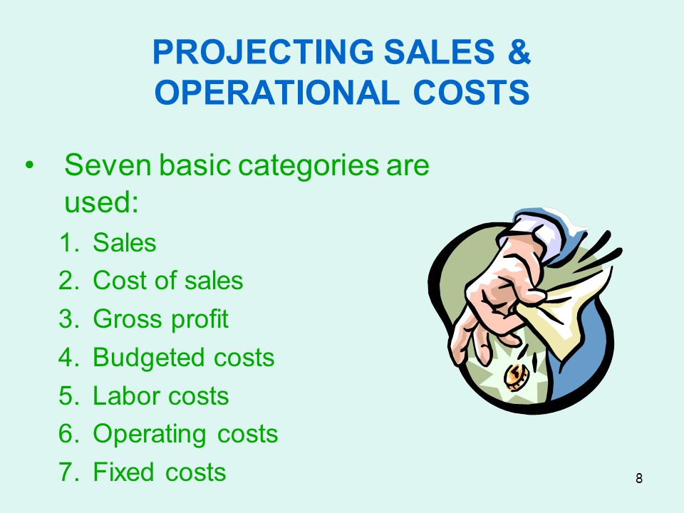 PROJECTING SALES & OPERATIONAL COSTS