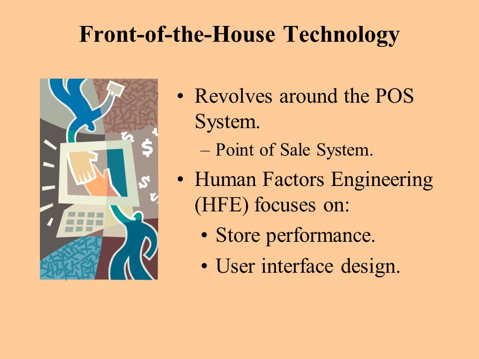 Front-of-the-House Technology